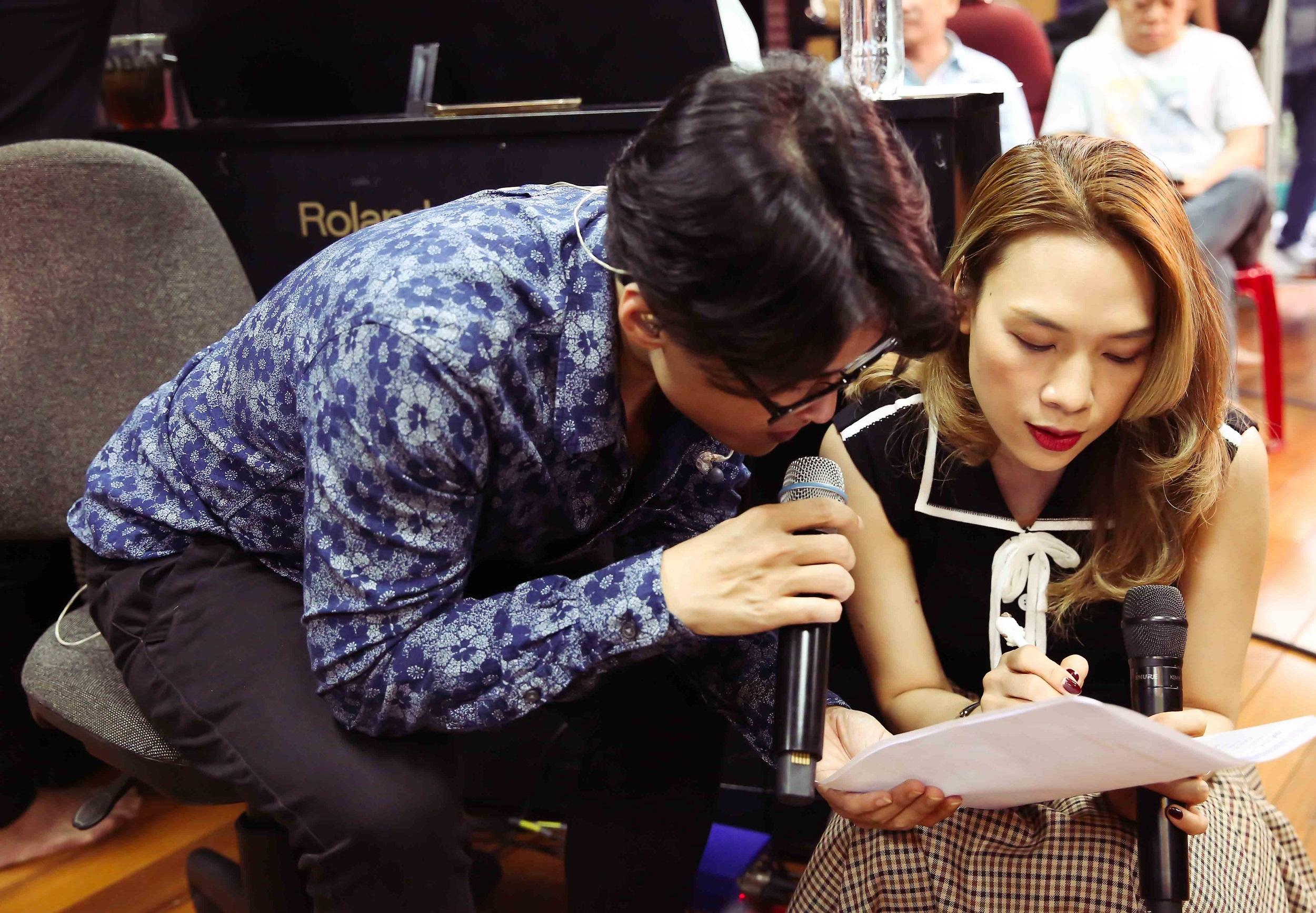 Hà Anh Tuấn hồi hộp khi song ca với Mỹ Tâm