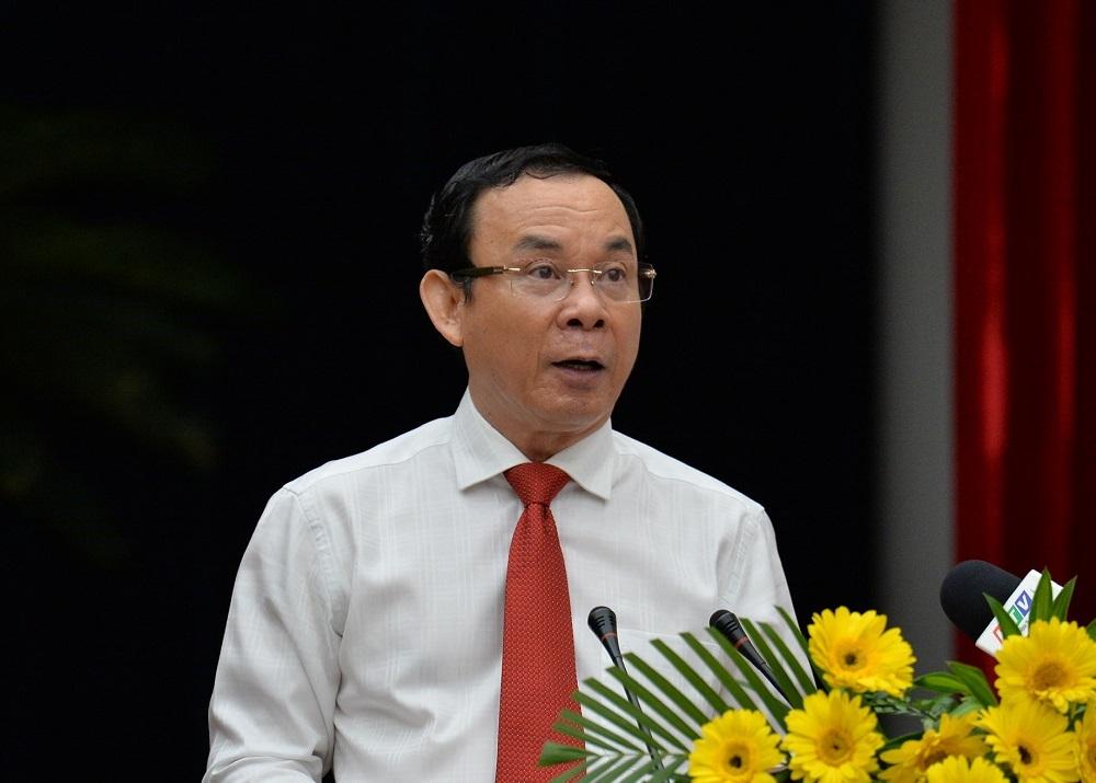 Bí thư TP.HCM: Sẽ dồn sức giải quyết các vấn đề Thủ Thiêm