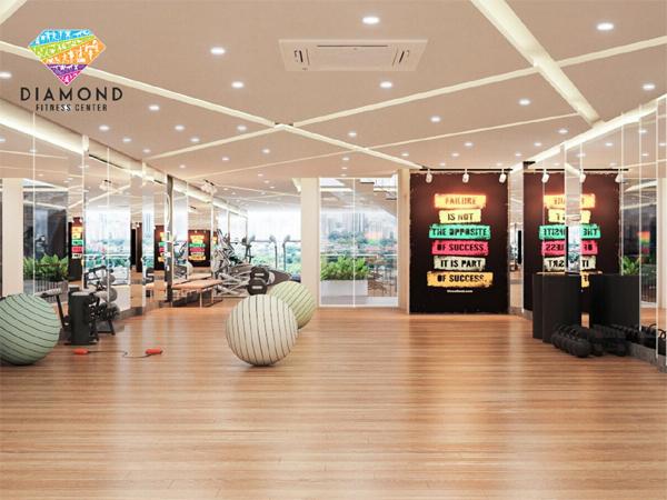 Diamond Fitness Center - hệ thống phòng tập 'sang chảnh', đẳng cấp