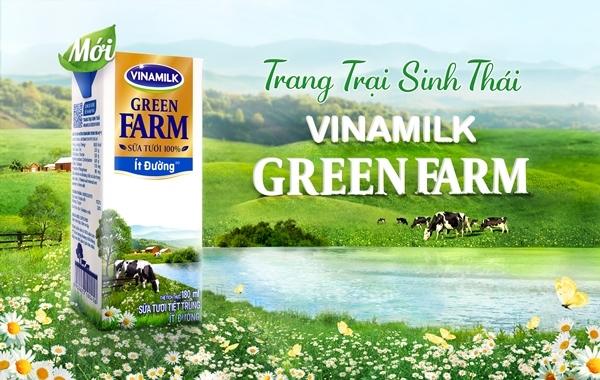 Người dùng hứng thú với 'lý lịch' dòng sữa tươi Vinamilk Green Farm mới