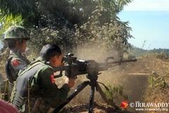 Giao chiến với du kích, tiểu đoàn trưởng quân đội Myanmar tử trận
