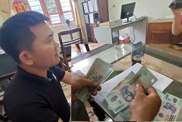 Chủ tịch mặt trận xã ở Nghệ An ký khống, nhận tiền Tết của 15 hộ nghèo