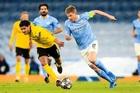 Trực tiếp Dortmund vs Man City: Guardiola phá dớp