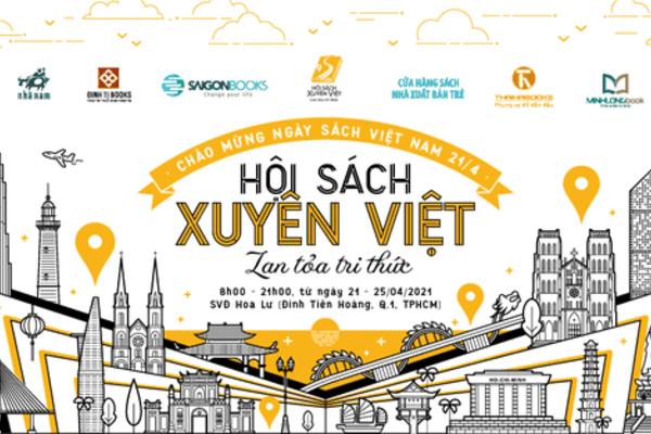 Hội sách xuyên Việt chào mừng ngày sách Việt Nam lần thứ 8