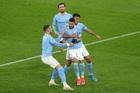 Dortmund 1-1 Man City: Mahrez gỡ hòa trên chấm 11m (H2)