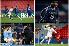 Xác định 2 cặp đấu bán kết Champions League