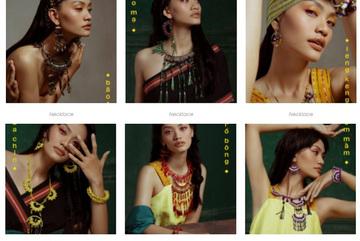 Fashion brand utilises traditional materials