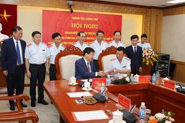 Ông Đoàn Hồng Phong chính thức nhận bàn giao nhiệm vụ Tổng Thanh tra Chính phủ