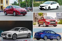 Xe sedan bán chạy tháng 3/2021: Lux A2.0 vẫn trong top, Attrage gây 'sốc'