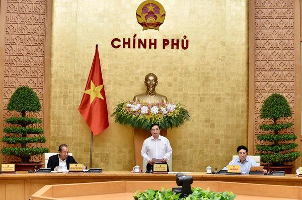 Cabinet meeting,PM Pham Minh Chinh