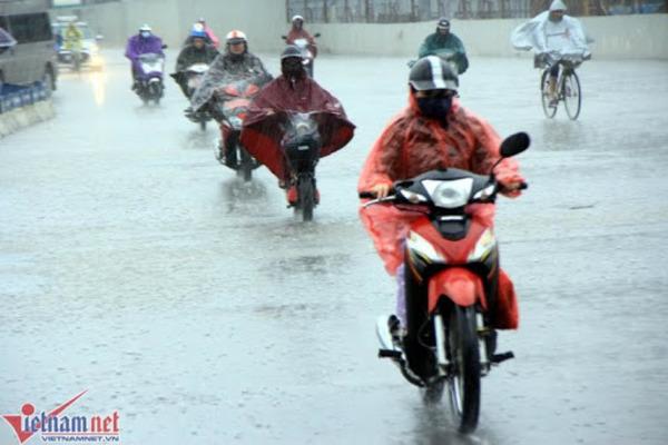 Dự báo thời tiết 5/4: Hà Nội khả năng có lốc, mưa đá