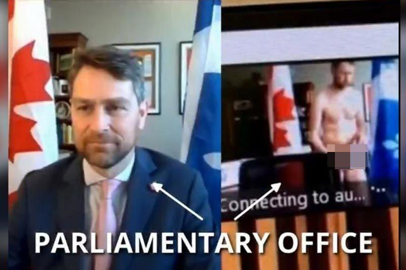 Nghị sĩ Canada lộ hình ảnh khỏa thân đi lại giữa phiên họp trực tuyến
