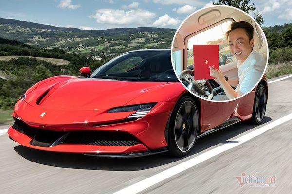 Cường Đô la khoe sắp mua siêu xe hybrid Ferrari, cả nước mới có 2 chiếc