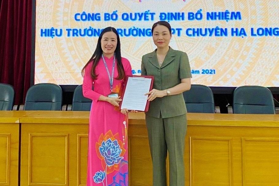Trường THPT Chuyên Hạ Long có hiệu trưởng mới qua thi tuyển - giá vàng 9999 hôm nay 221