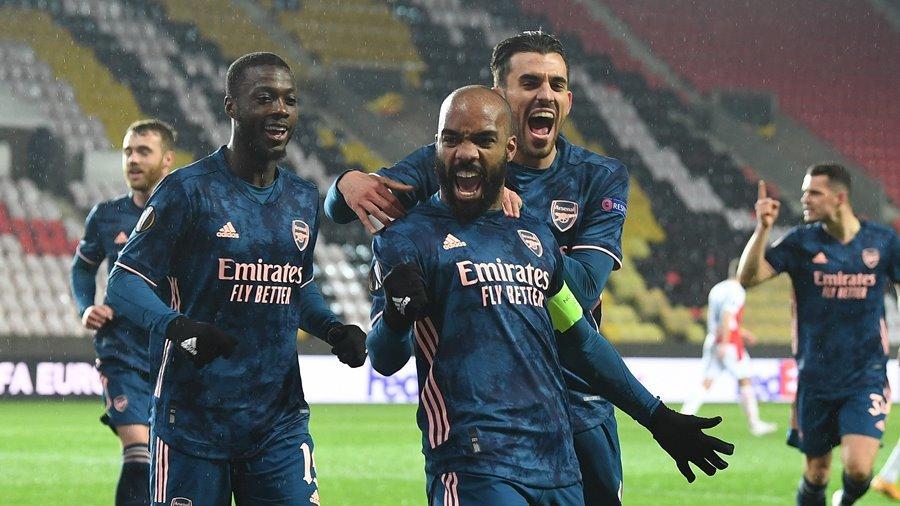Xác định 2 cặp đấu bán kết Europa League