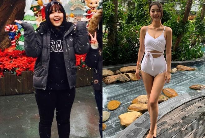 Cô gái Hàn Quốc lột xác nhờ giảm 30 kg
