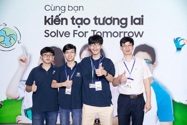 Solve for Tomorrow - 'bệ phóng' cho giới trẻ 4.0 kiến tạo tương lai
