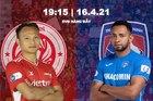 Viettel 1-0 Quảng Ninh: Cầu thủ đội khách phản lưới (H1)