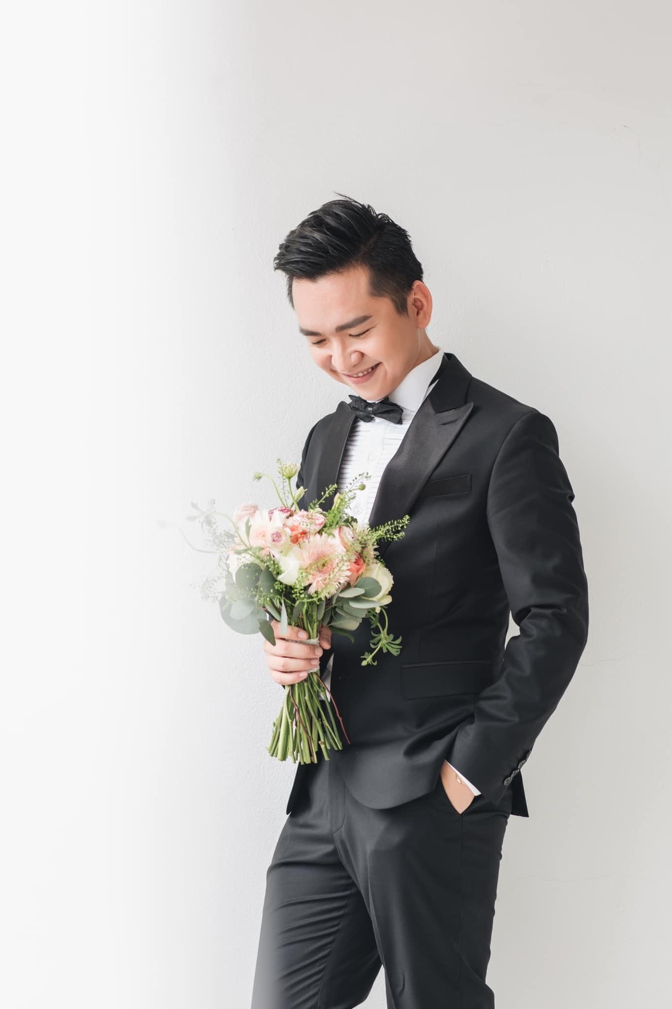 mc hanh phuc 6 MC Hạnh Phúc lần đầu đăng ảnh cưới sau hơn 1 năm kết hôn