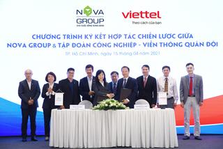 NovaGroup 'bắt tay' Viettel chuyển đổi số