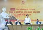 Tầm nhìn Nguyễn Cơ Thạch trong sự nghiệp phát triển ngành ngoại giao