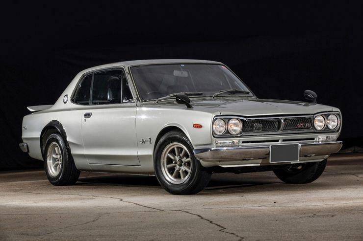 Những chiếc xe Nhật hàng hiếm, đấu giá cao ngất ngưởng