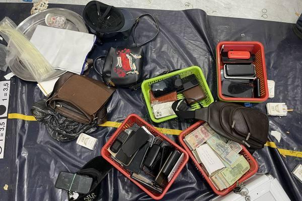 Bắt 50 đối tượng đánh bạc dù chủ sòng tổ chức nhiều lớp cảnh giới