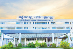 Bệnh viện Chợ Rẫy - Phnom Penh có 30 phòng cho bệnh nhân Covid-19