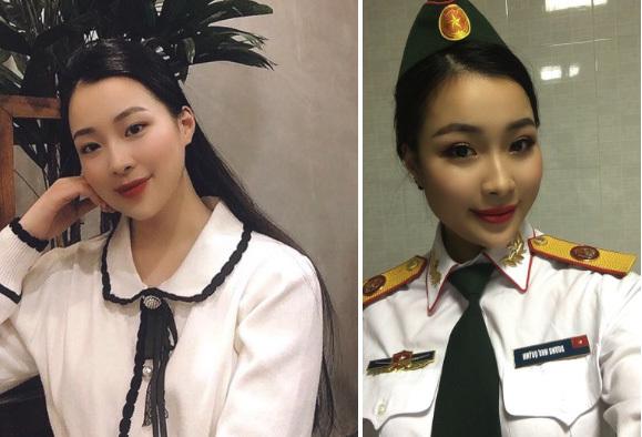 Cô gái được chú ý trên mạng vì bức ảnh đang làm căn cước công dân