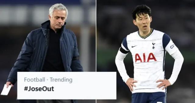 Mourinho được kêu gọi từ chức sau trận hòa kém cỏi của Tottenham