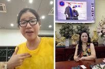 """Trang Trần livestream gửi lời tới bà Phương Hằng - vợ Dũng """"lò vôi"""": """"Cháu nghèo hơn cô thật, cháu đeo hột xoàn giả nhưng cháu cũng đâu xin tiền cô"""""""