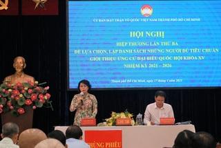 TP.HCM thông qua danh sách 38 người ứng cử ĐBQH khóa XV