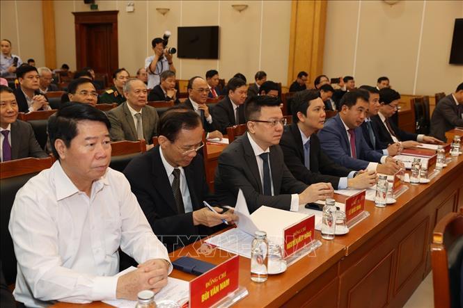 Tổng Bí thư dự hội nghị tổng kết nhiệm kỳ Hội đồng Lý luận Trung ương