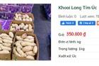Đặc sản cua biển mất giá, khoai lang tím bất ngờ đắt đỏ