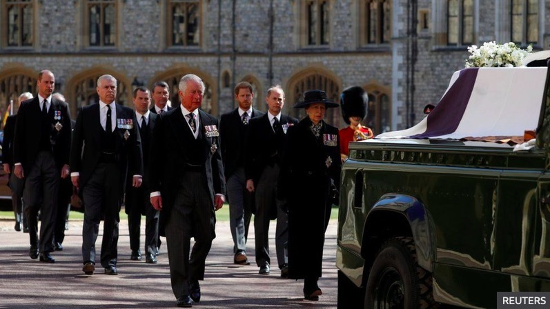 Toàn cảnh lễ tang Hoàng thân Philip