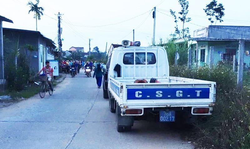 Nguyên Trưởng Công an huyện ở Quảng Ngãi nghi bị chém tử vong