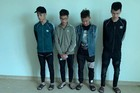 Truy vết nhóm thanh niên cầm hung khí gây náo loạn đường phố ban đêm