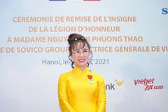 Bà Nguyễn Thị Phương Thảo cam kết nỗ lực mang lại nhiều giá trị mới