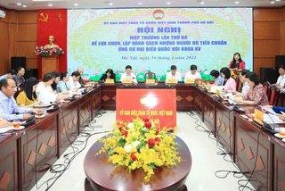 Điều chỉnh cơ cấu đại biểu Quốc hội khóa XV của TP Hà Nội