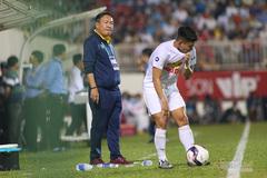 HLV Hoàng Văn Phúc lý giải trận thua HAGL