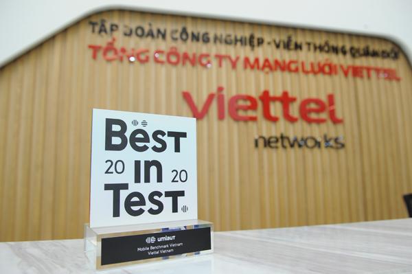 Viettel liên tục đứng đầu các đợt đo kiểm uy tín về chất lượng mạng di động