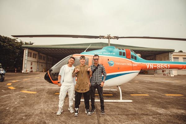 Young Uno mang cả trực thăng vào MV mới