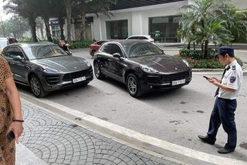 Đã xác minh được biển số thật vụ xe Porsche trùng biển số ở Times City