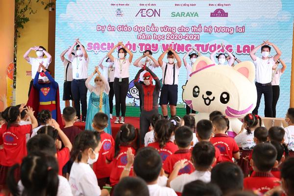 AEON Việt Nam chia sẻ kỹ năng giữ vệ sinh cho trẻ mầm non và tiểu học