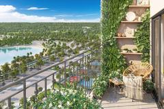 Căn hộ 'vườn ban công' hút khách ngay ngày đầu mở bán