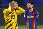 Messi chặn đường đến Barca của Haaland