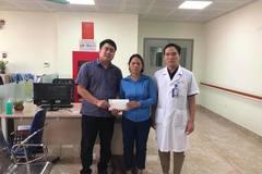 Trao gần 50 triệu đồng đến em Đỗ Văn Vĩnh bị tai nạn giao thông