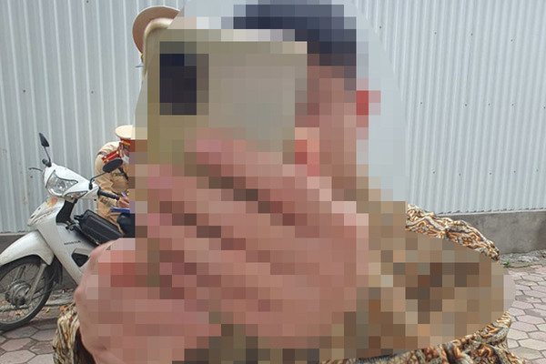 Hà Nội: Quân nhân say rượu không chấp hành kiểm tra nồng độ cồn