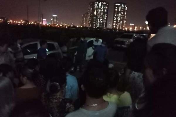 Bé gái 3 tuổi rơi từ tầng cao chung cư xuống đất tử vong ở Hà Nội