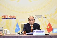 Phát biểu của Chủ tịch nước Nguyễn Xuân Phúc tại phiên họp Hội đồng Bảo an